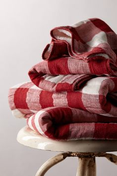 Gingham Check Towel Collection - anthropologie.com