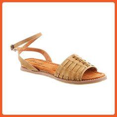 Bearpaw Women's Amelia Tan Sandal 8 M - Sandals for women (*Amazon Partner-Link)