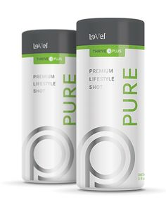 THRIVE Plus - Pure Premium Lifestyle Shot - Pure is and ultra premium vitamin and amino acid lifestyle shot, formulated to assist your busy and fast - paced lifestyle.