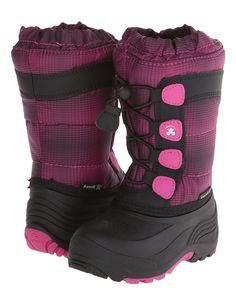 They may not race to the moon but they'll be ecstatic in the Moonracer boots from Kamik® Kids!
