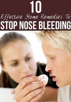 how to stop a cut from bleeding on your nose
