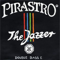 Pirastro Jazzer Series Double Bass E String 3/4 Size
