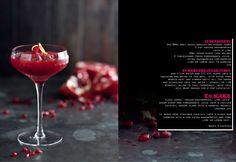what katie ate | frozen raspberry pomegranite cocktail