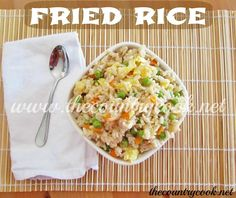 My Favorite Fried Rice!
