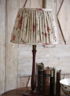 Octavia works beautifully to any scale. #decor #lampshade
