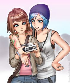 "Pricefield (Life is Strange) - ""Max and Chloe"" by RacoonKun on @DeviantArt"