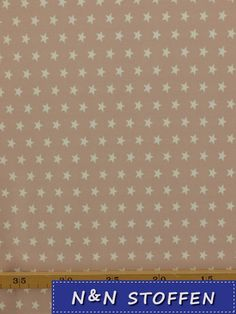 Tricot stof zacht roze sterren 1