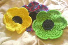 Large Crochet Dishcloth by HiltonHippiesGifts on Etsy
