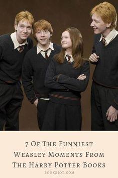 Humor meets the Weasleys.   book humor   harry potter   harry potter humor   weasley humor