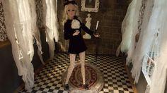 Halloween Diorama, Barbie Halloween, Barbie Diorama, Monster High, Fashion Dolls, Poppies, Scale, Collection, Dioramas