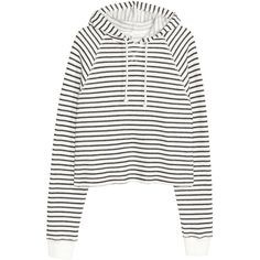 Huvtröja cropped 149 found on Polyvore featuring tops, sweaters, shirts, hoodies, jumpers, white sweater, white top, white jumper, crop top and cropped jumper
