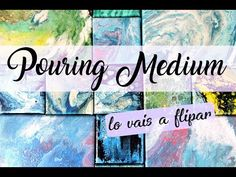 POURING MEDIUM  O ARTE FLUIDO PASO A PASO PARA PRINCIPIANTES   YourCreativeChannel - YouTube Acrylic Painting Lessons, Pour Painting, Fluid Acrylics, Acrylic Pouring, Metallic Paint, Art Tutorials, Art Projects, Abstract Art, Youtube