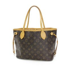 Louis Vuitton Neverfull PM Monogram Shoulder bags Brown Canvas M40155