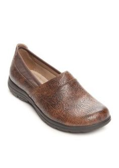 Kim Rogers Brown Elmay Slip On - Available in Extended Sizes