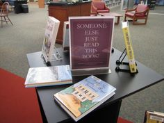 Librarians and teachers need ideas for book displays to draw readers to books. The month-by-month suggestions for displays makes your job easier. Created by a retired librarian.