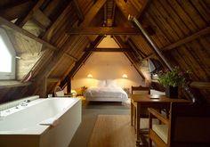 bathroom in mansarda... un sogno!