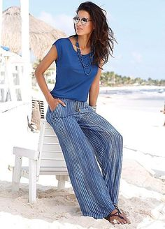03ded2c3f70 S.Oliver Blue 2 in 1 Jumpsuit Size 38 UK 12 rrp 50 DH085 CC