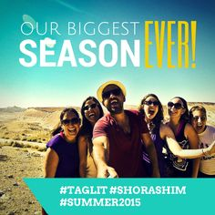 Who's ready for our *BIGGEST SEASON EVER* this summer? We are!