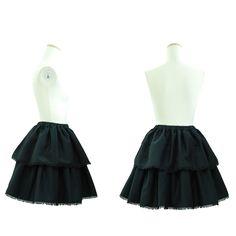 "Sheglit ""Chambray tiered skirt"""