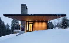 Carney Logan Burke Architectsl - like the wood soffits and wood siding...could substitute with a composite material more resistant to climate