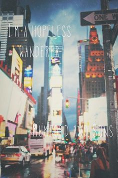 Hopeless Wanderer - Mumford and Sons