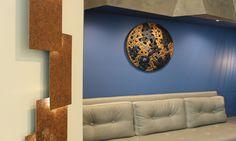 L'art du détail Bureau - Agence Brigitte Elbaze #workspace #bureau #surmesure