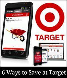 6 ways to save money at Target