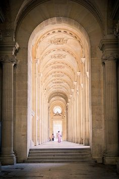 Louvre Palace ~ Paris, France. One of the world's largest museum and historic monument. About 35.000 artwork from the prehistory to the 21st century. Originally built as a fortress by Phillip II, in the 12th century. The museum opened in 1793.by GalerieW 2014