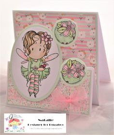 Catch the Bug Wednesday Tutorial: Fairy Stepper Card Silicone Glue, Stepper Cards, Green Mat, Alcohol Markers, Bugaboo, Lets Celebrate, Bugs, Wednesday, Embellishments