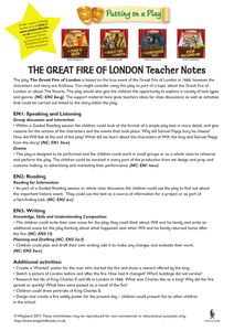 Tes The Great Fire Of London By Teaching Resources Tes Activity Based Learning, Teaching Activities, Teaching Resources, Great Fire Of London, The Great Fire, Classroom Displays, Classroom Ideas, Horrible Histories, Text Types