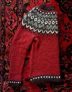 Ravelry: Project Gallery for Riddari pattern by Védís Jónsdóttir for Ístex Fair Isle Knitting Patterns, Fair Isle Pattern, Knitting Designs, Knit Patterns, Pull Jacquard, Norwegian Knitting, Icelandic Sweaters, Pulls, Hand Knitting