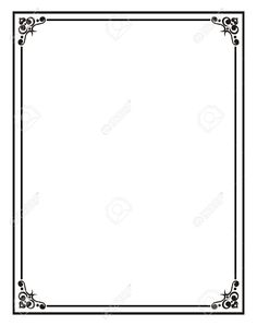Home Office:Certificate Border Stock Photos, Pictures, Royalty Free  With Regard To Word Document Frames Borders Regarding Comfy word document frames borders regarding Comfy