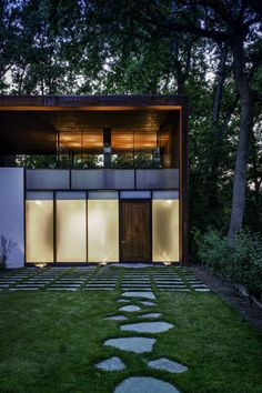 Modern home by David Jameson.