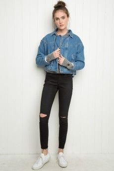 Isabelle Fur Jacket