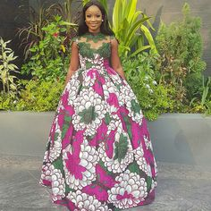Fashionable, Stylish, and Exquisite Ankara Styles! Checkout How Fashionistas Are Rocking Their Amazing Pieces - Wedding Digest Naija African Attire, African Wear, African Women, African Shop, African Style, African Inspired Fashion, African Print Fashion, Ankara Fashion, African Print Dresses