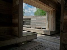 """[Image: """"Waiting for the River"""" by Observatorium]. Waiting for the River is a 125-foot-long inhabitable bridge, complete with dormitories, outdoor eating areas, and a bathroom, built by…"""