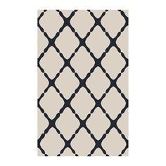 Surya RAI1246-58 Rain Light Gray and Navy Area Rug