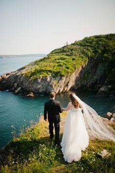 Newfoundland wedding. Maggie Sottero Esme Marie gown.