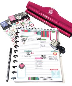 turning The Happy Planner™ Teacher Planner into a TRAVEL/VACATION planner by mambi Design Team member Casie Gutierrez | me & my BIG ideas