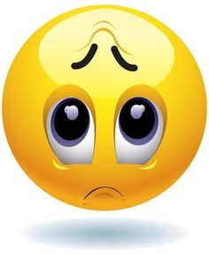 Emoticon Sad Face Match Your Mood - High Quality Iron-On Transfer
