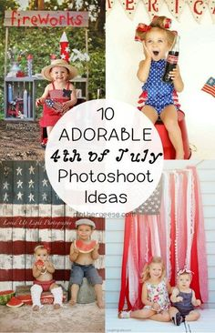 10 Adorable 4th of July Photo Shoot Ideas — Mother Geese