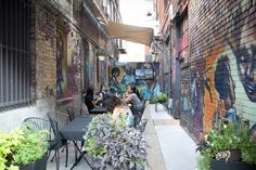 the top 5 alleyway patios in Toronto. from blogto.com