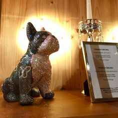 """FRENCH BRUNO / BUTTERFLY is currently exhibited in the beautiful and exclusive Hotel """"der Krallerhof""""! #frenchbruno #krallerhof #art #sculpture #amazing #fantastic #blingbling #swarovski #kunst #j_leitner #crystal #crystals #glamour #glamorous #luxury #exclusive #frenchbulldog #doggy #glitter #glitzer #figure #dog #hund #frenchie #butterfly French Bulldog, Swarovski, Butterfly, Glamour, Sculpture, Photo And Video, Crystals, Luxury, Amazing"""