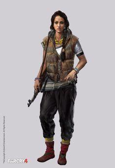Far Cry 4 Character Concept Art by Aadi Salman
