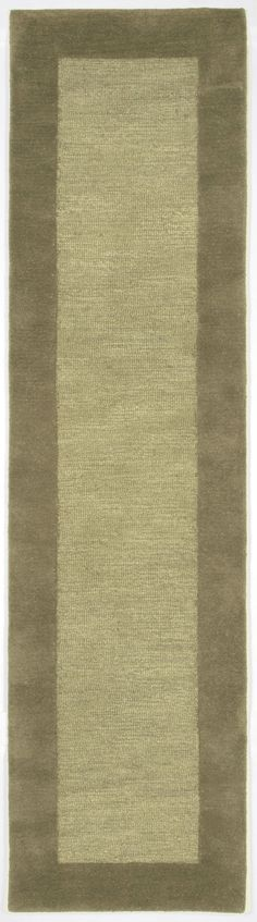 Trans-Ocean Imports MADR8130016 Madrid Collection Sage Finish Indoor Rug
