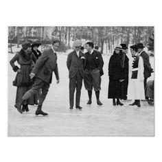 Ice Skating in Tuxedo Park, NY