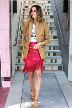 Louise Roe - Los Angeles Street Style - Statement Pieces for Fall 2015 - Simon Malls - Vogue - Front Roe fashion blog 8
