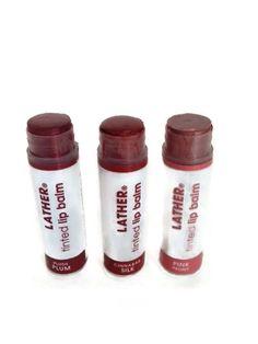 @redallison reviews @lather limited edition natural lip balms, #crueltyfree