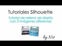 Tutorial Silhouette Studio - Como rellenar una letra o una figura con un patron de corte