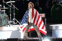 Jon Bon Jovi, Winter Olympic Games, Salt Lake City, 2002